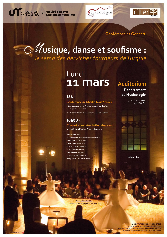 Musique et soufisme - Affiche