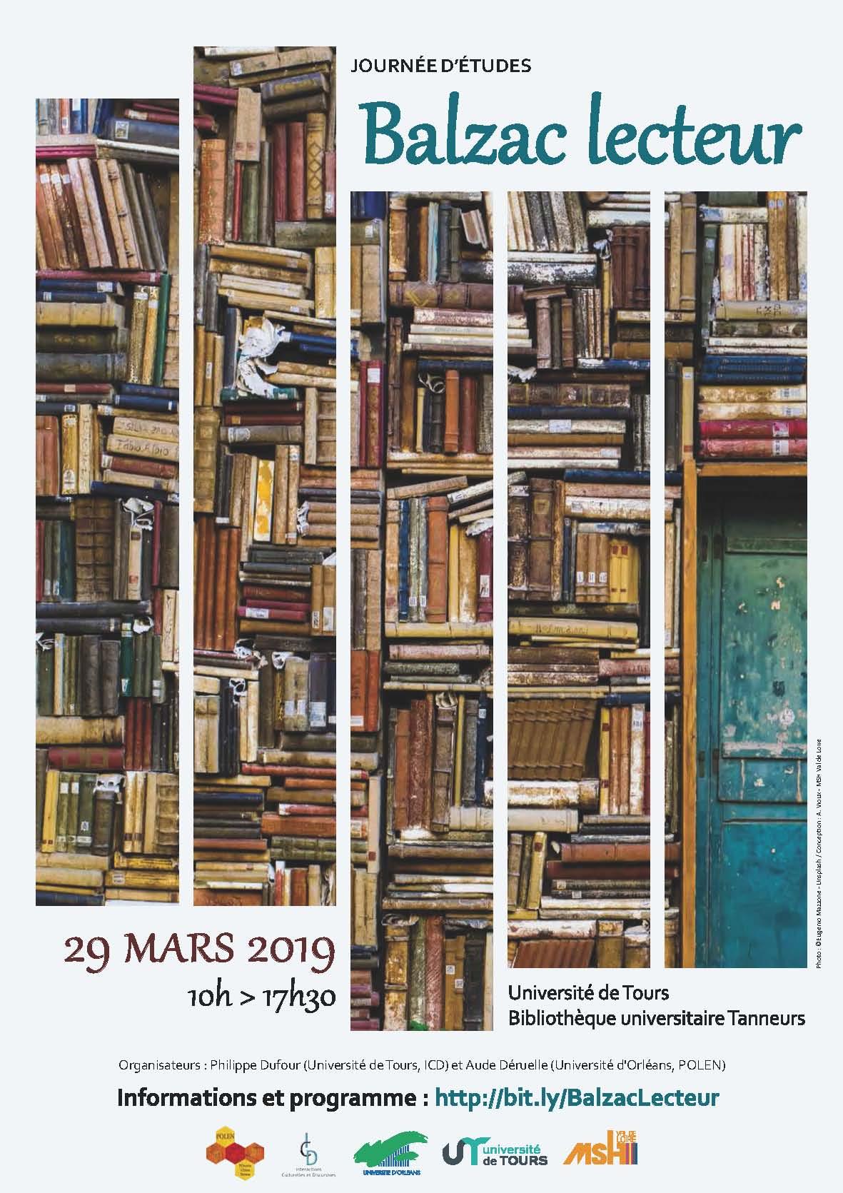 Balzac lecteur - Affiche