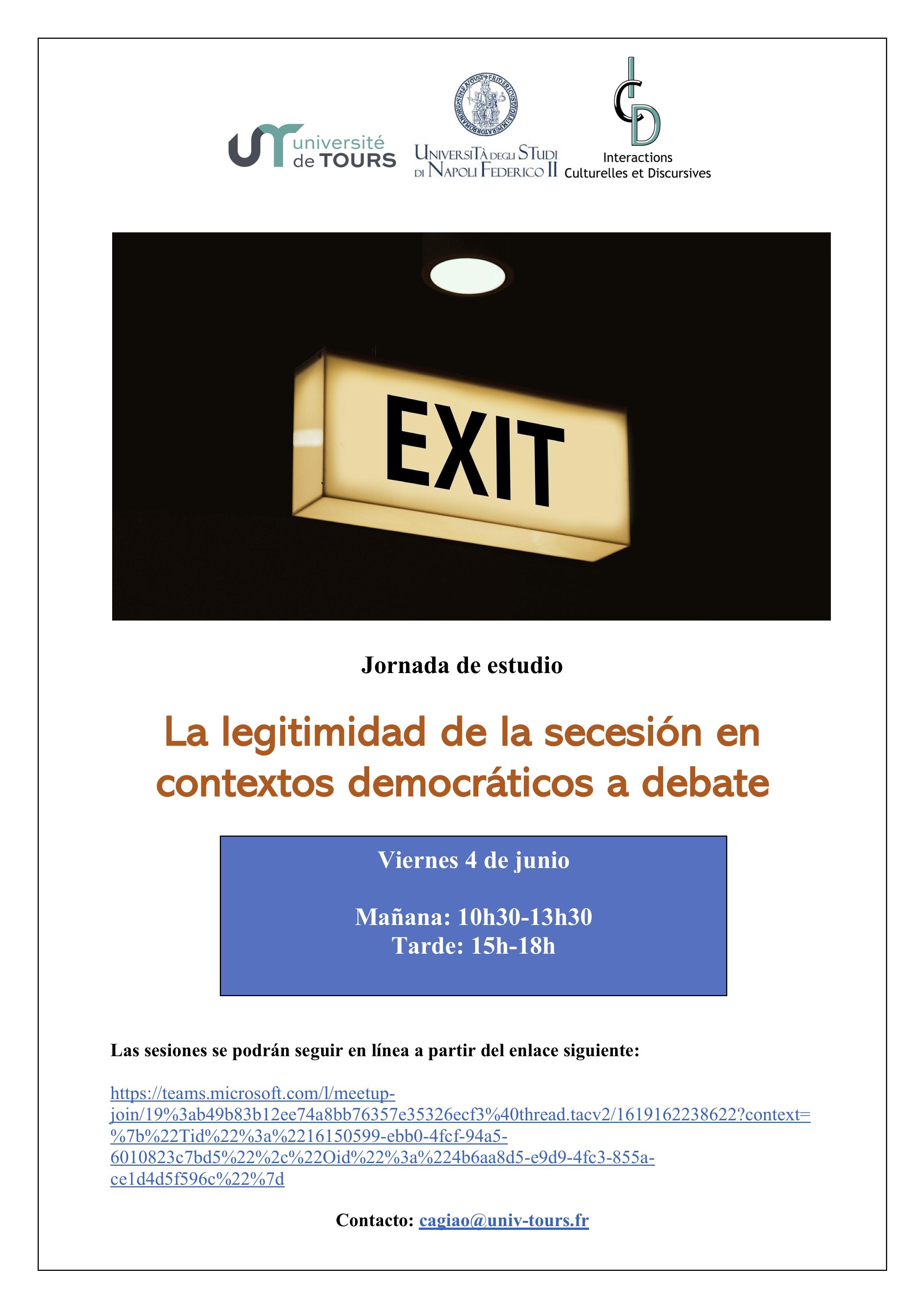Affiche 4 juin Jorge