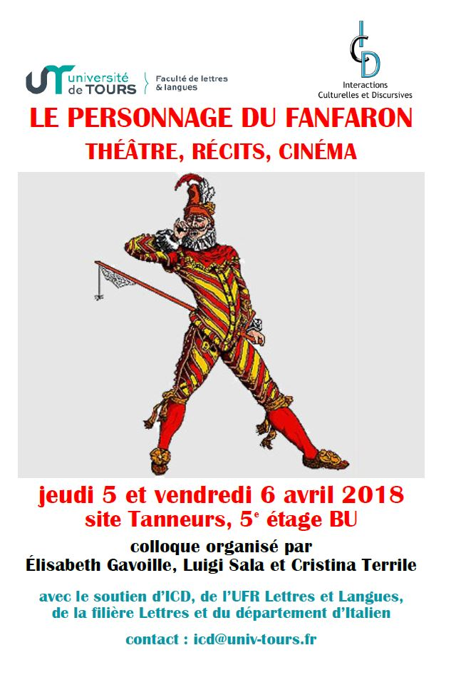 Affiche colloque fanfaron