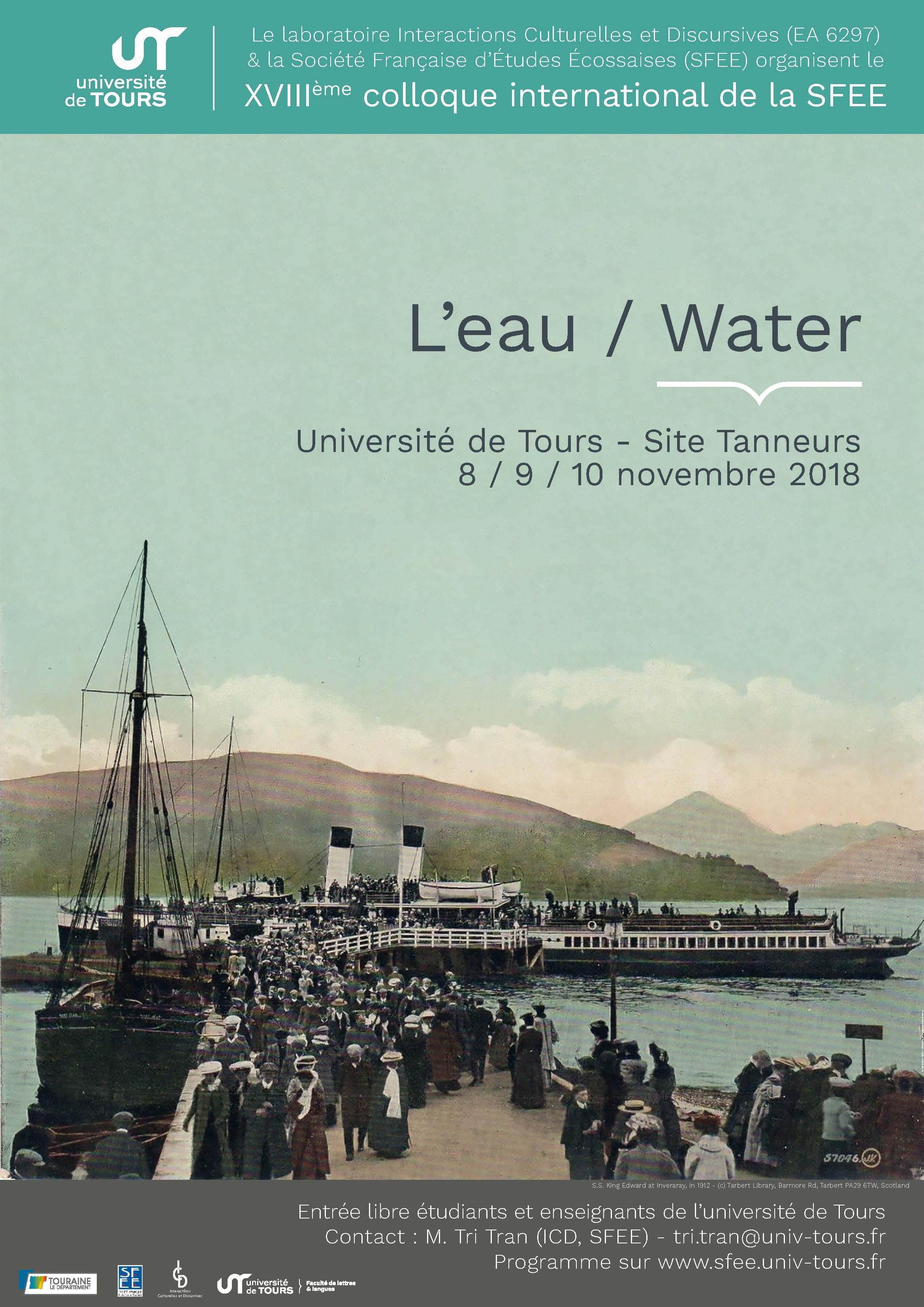 L'eau / water - Affiche
