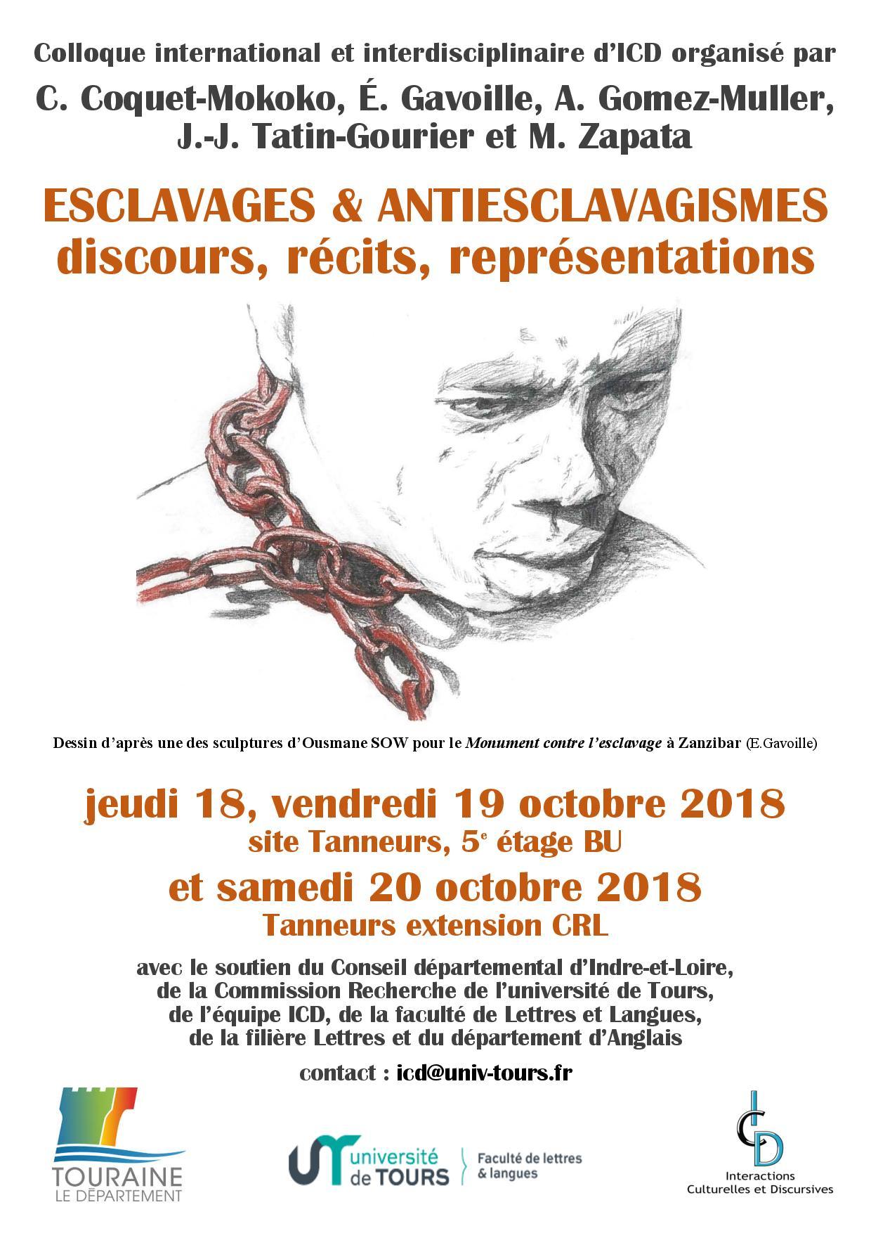 Esclavages & antiesclavagismes - Affiche