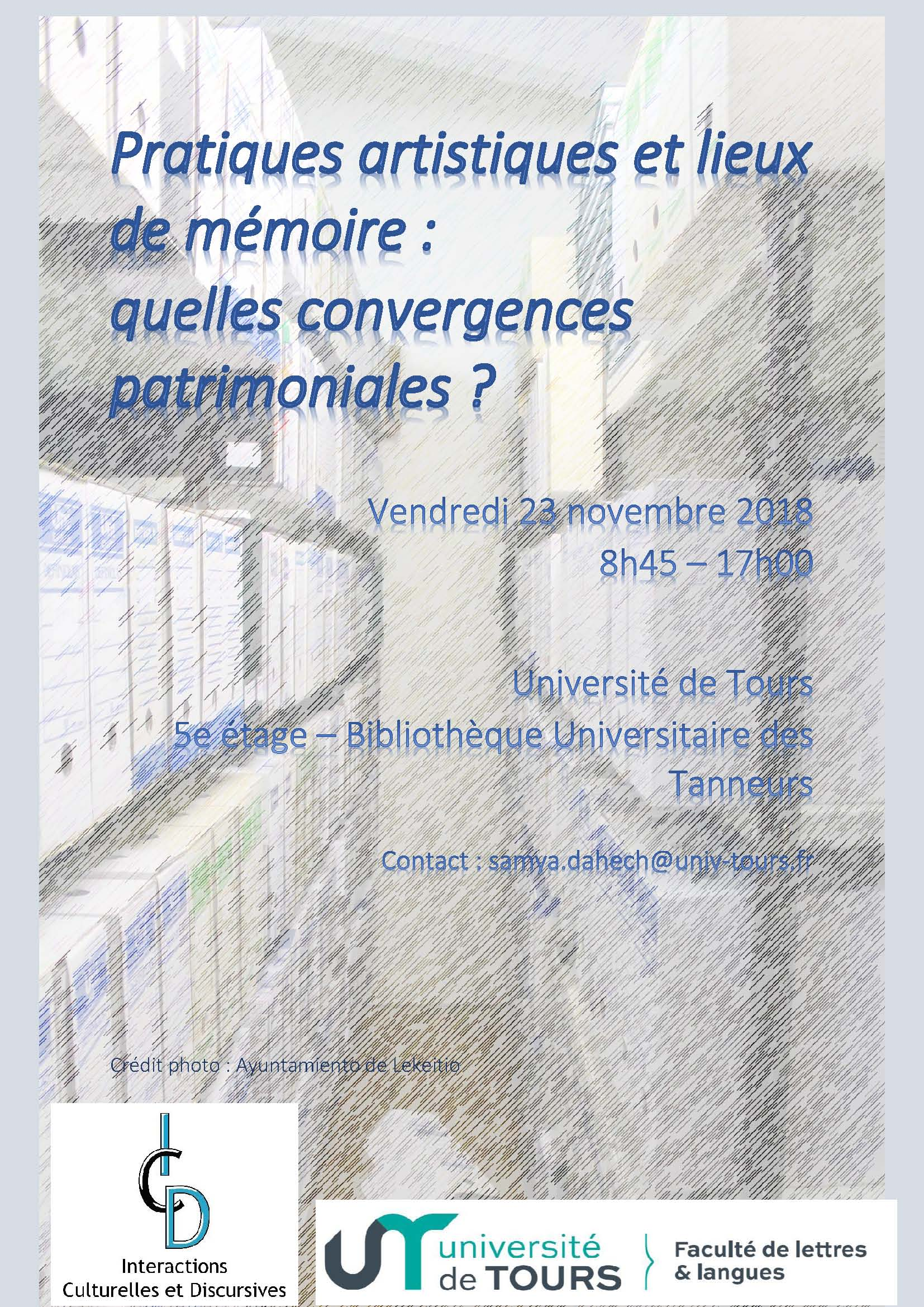 Pratiques artistiques et lieux de mémoire