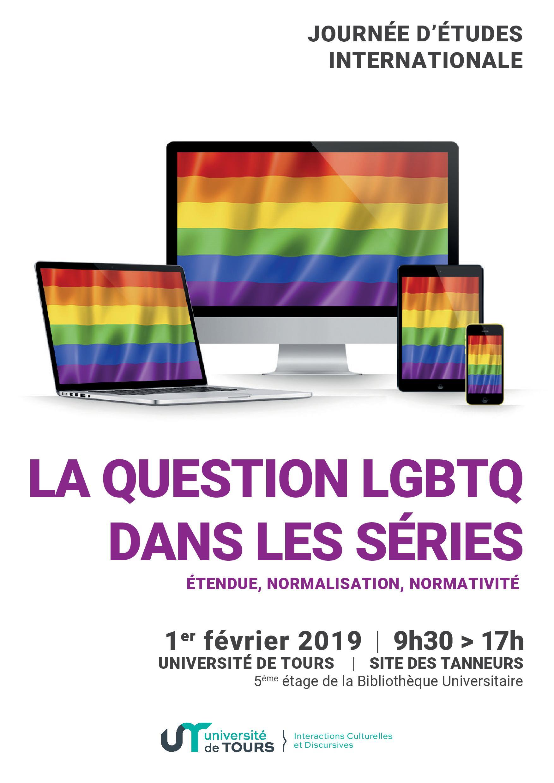 La question LGBTQ dans les série - Affiche