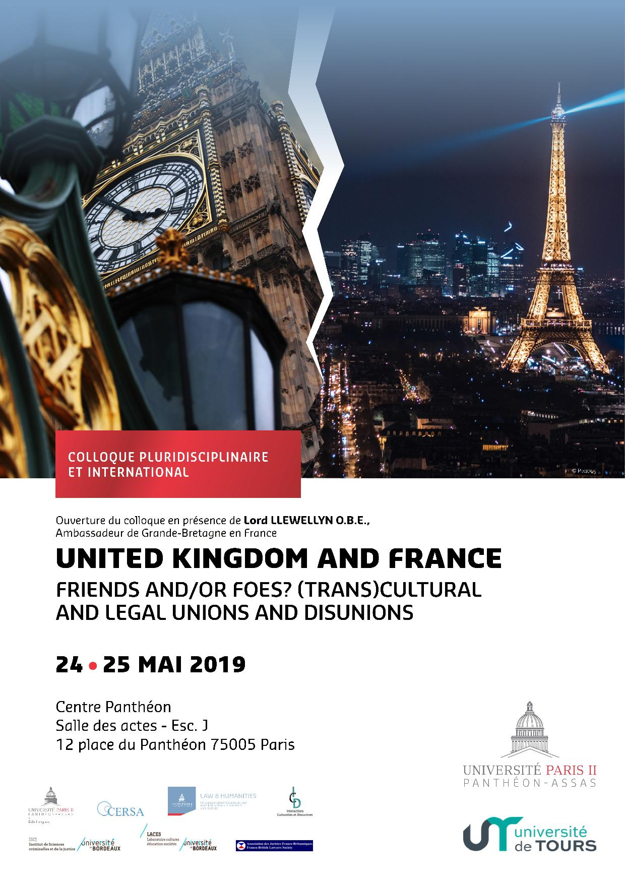 United Kingdom and France - Affiche