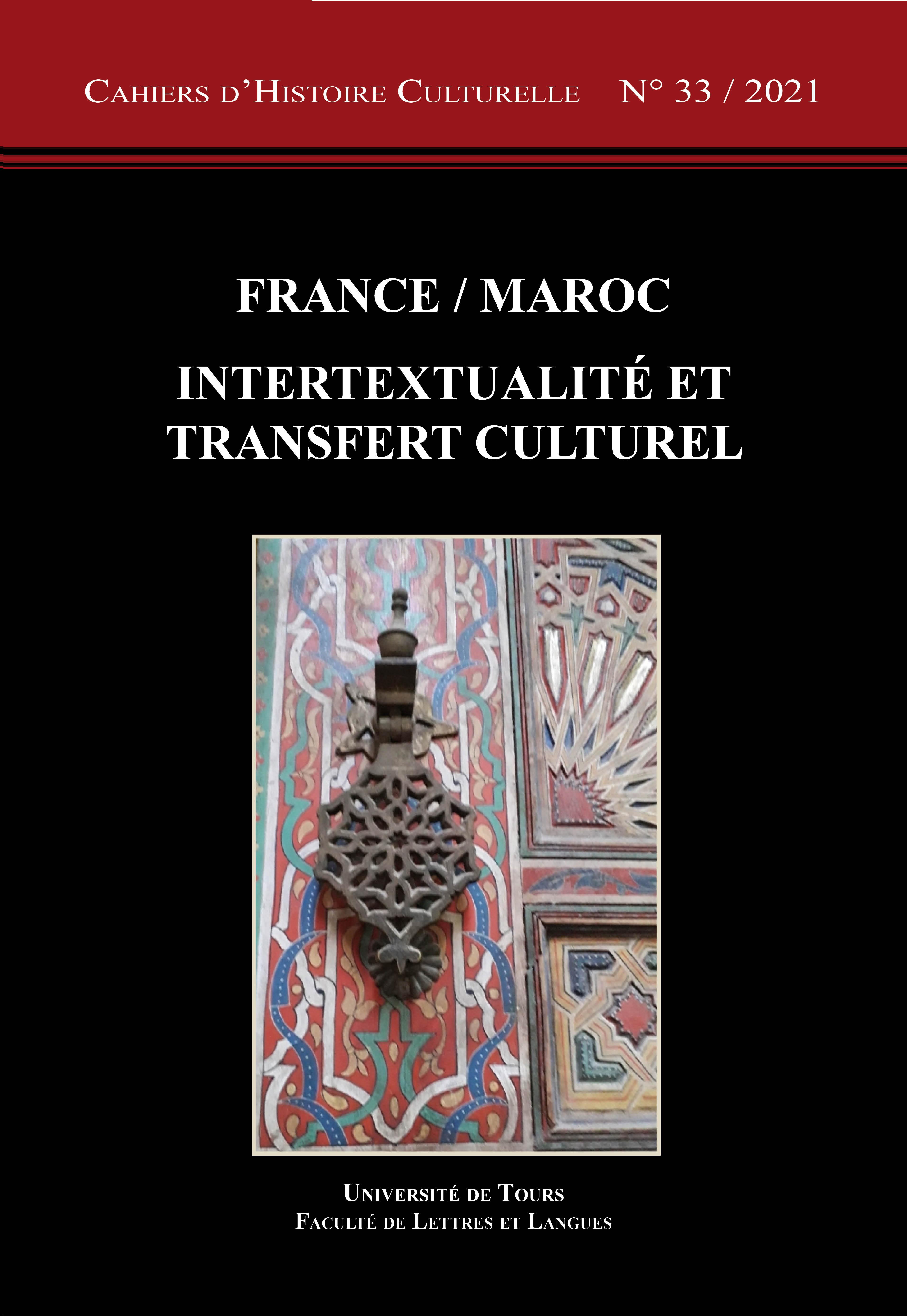 Couv CHC 33 France Maroc