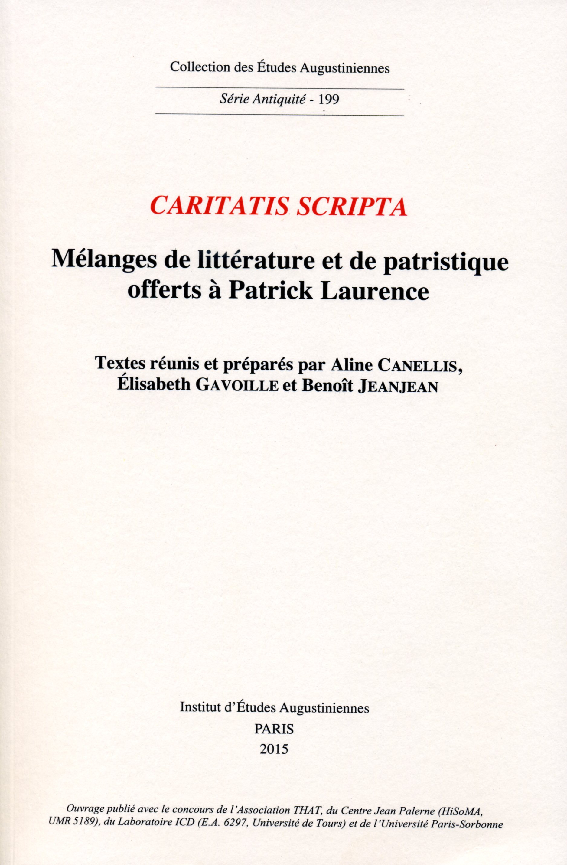 Caritatis scripta