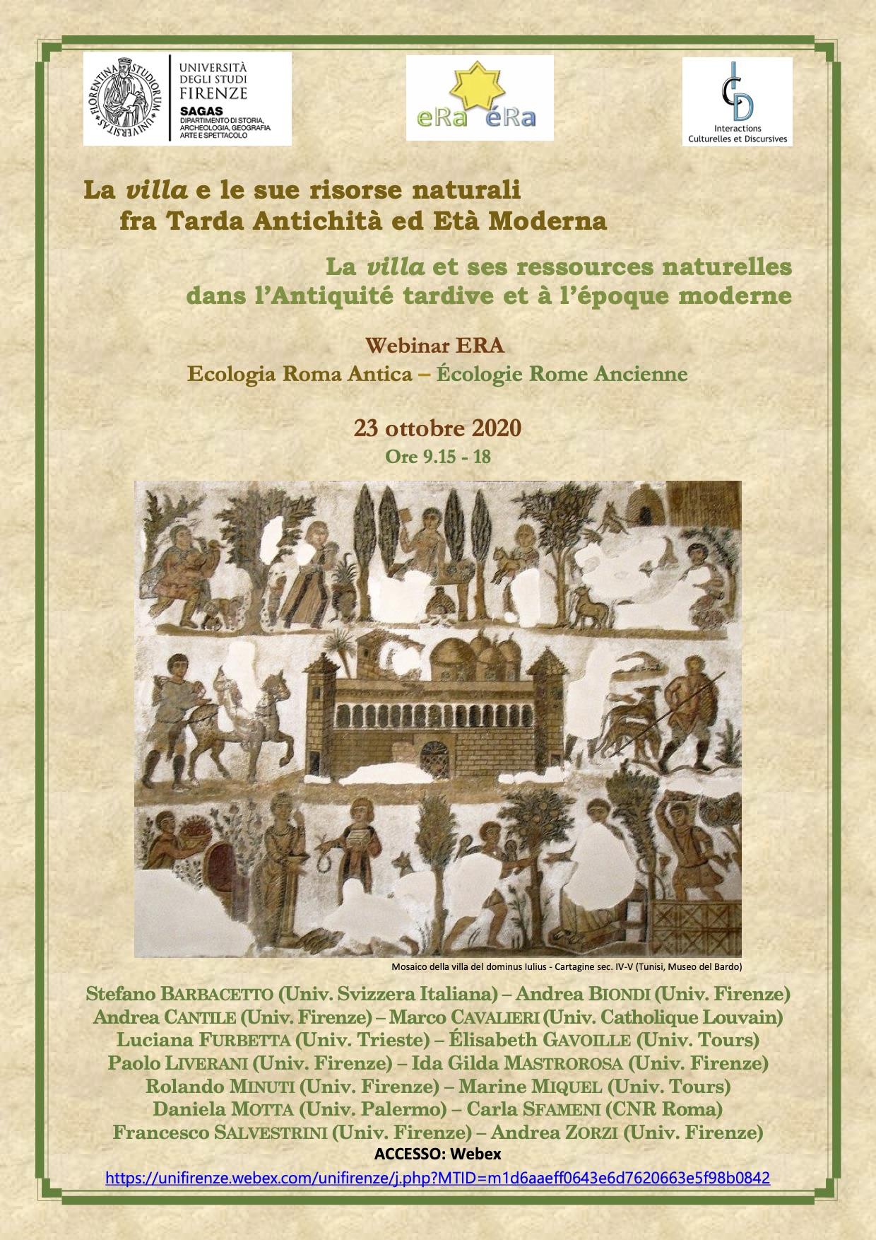 Affiche Villa 23 oct. 2020